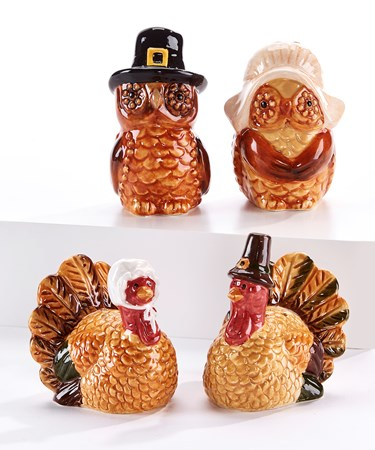 AnimalSaltPepperShakers2Asst