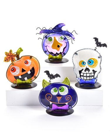 HalloweenCandleHolder4Asst