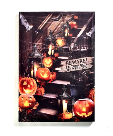 LEDHalloweenCanvasPrint