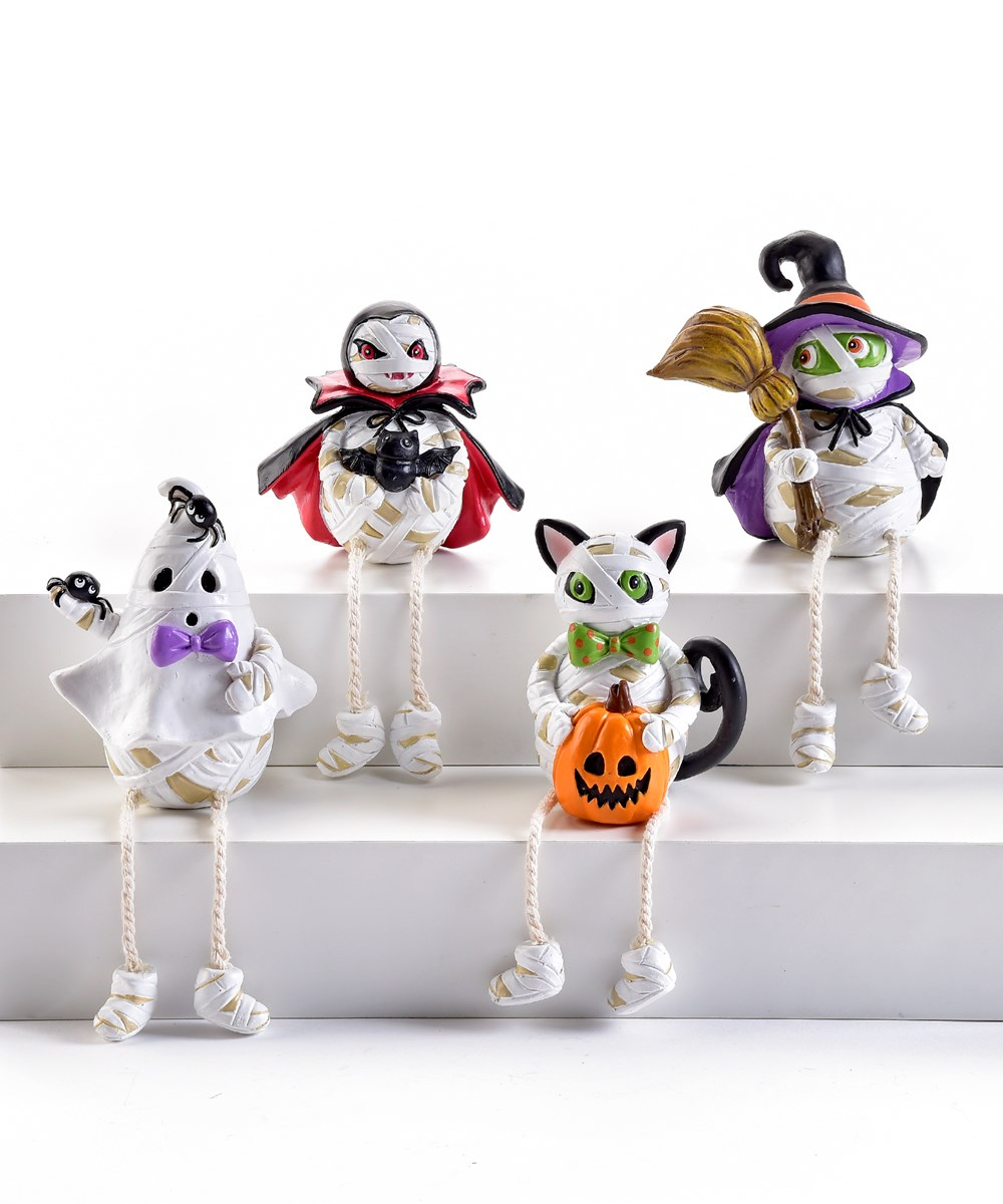 HalloweenMummyShelfSitter4Asst