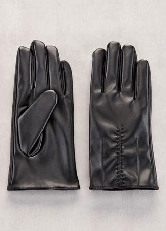 MensVeganLeatherGloves