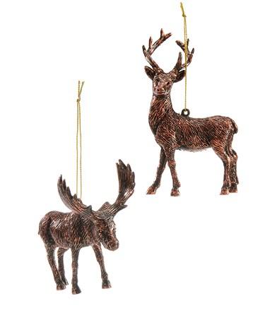 ReindeerMooseOrnament2Asst