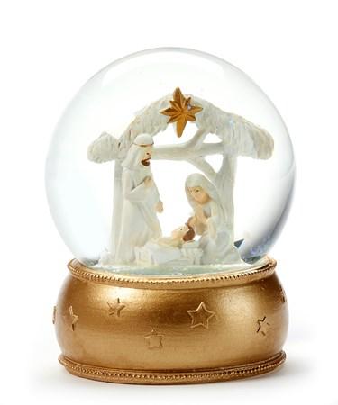 NativitySceneWaterGlobe