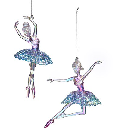 IridescentBallerinaOrnament2Asst