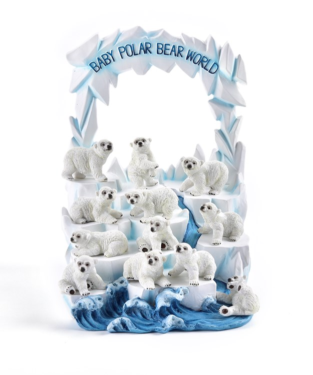 PolarBearFigurines12AsstwDisplayer