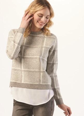 ShirttailSweaterinLuxeYarns