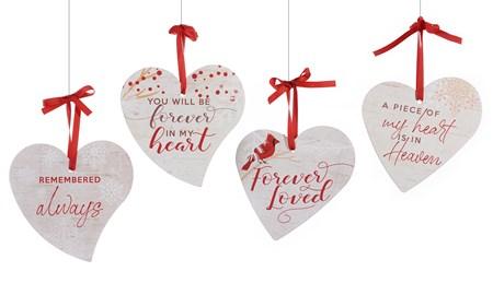 HeartOrnamentwSentiment4Asst