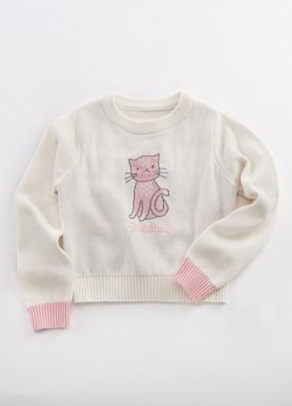 ToddlerCatMeowSweater