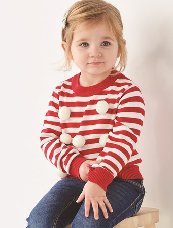 ToddlerUnisexPomPomSweater
