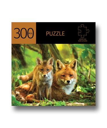 FoxesDesignPuzzle300Pieces