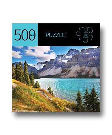 LakeMountainsDesignPuzzle500Pieces
