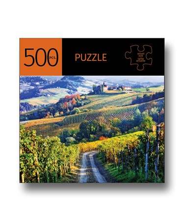 ItalianVineyardDesignPuzzle500Pieces