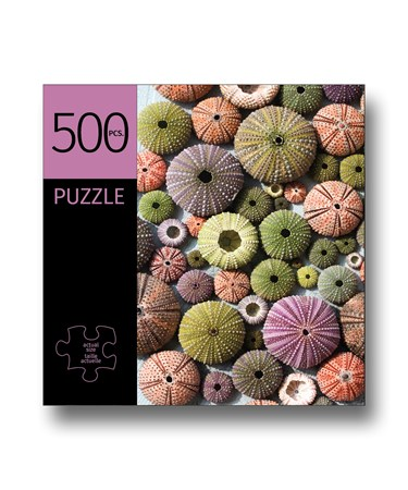 UrchinShellsDesignPuzzle500Pieces