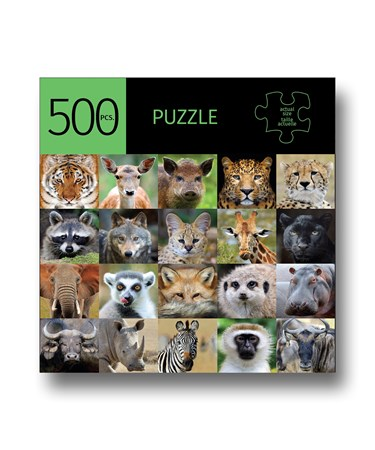 WildAnimalsDesignPuzzle500Pieces