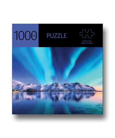 AuroraMountainsDesignPuzzle1000Pieces