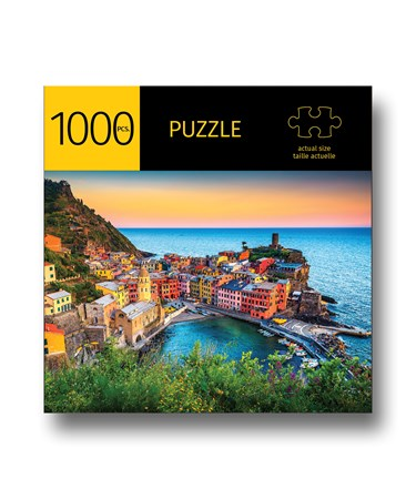 SeasideTownDesignPuzzle1000Pieces