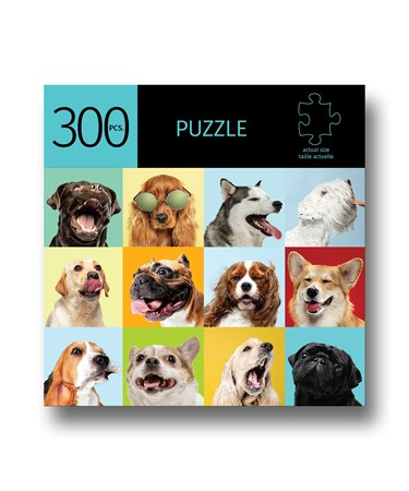DogsDesignPuzzle300Pieces
