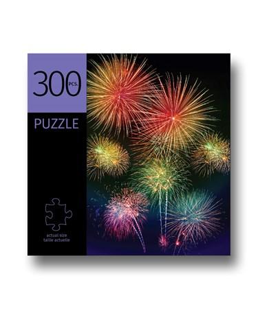 FireworksDesignPuzzle300Pieces