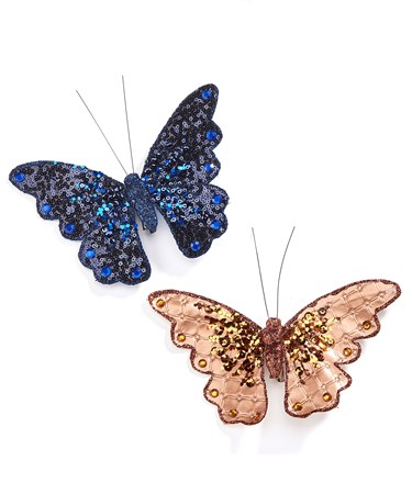 ButterflyClipOnOrnament2Asst