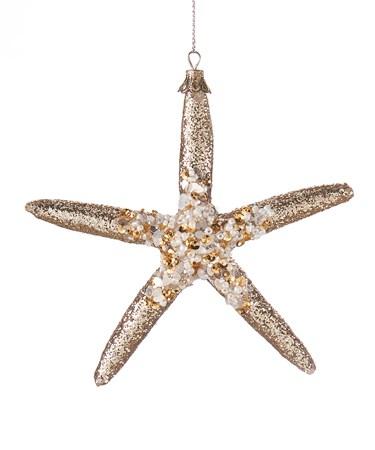 GlitterStarfishOrnament