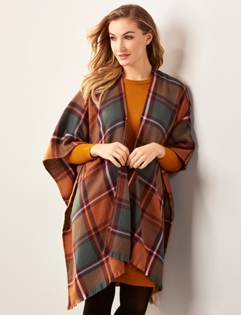 FallPlaidCape