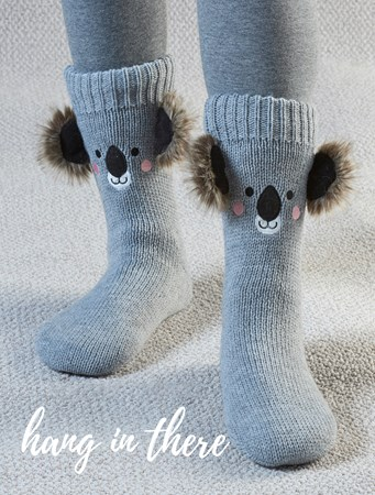 KoalaFaceSocks