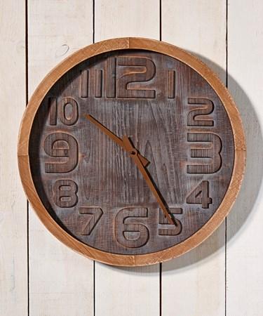 WoodenWallClock