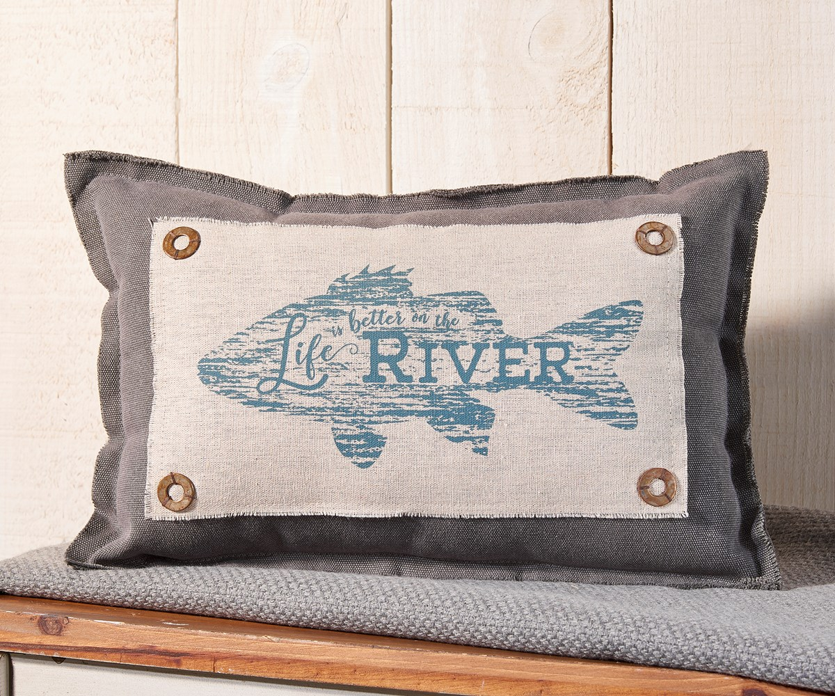 RiverFishPillow