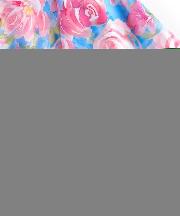 FloralRainPonchowBag
