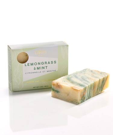 LemongrassMintAllNaturalSoap