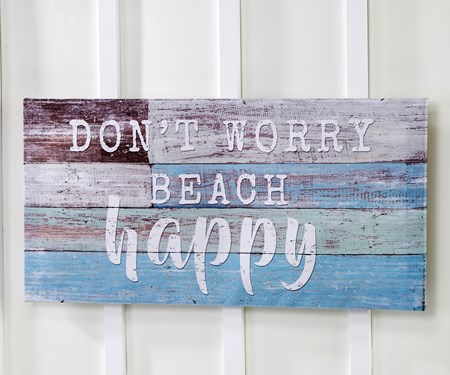 BeachHappyWallPrint