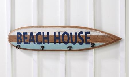 BeachHouseSurfBoardWallDeacutecor