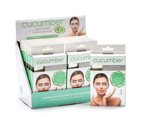 CucumberUnderEyePadsSetof5wDisplayer