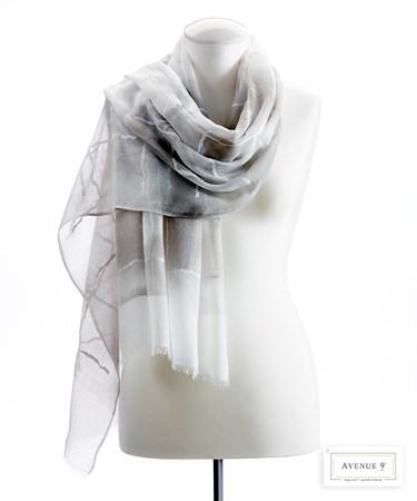 TieDyeCheckScarf