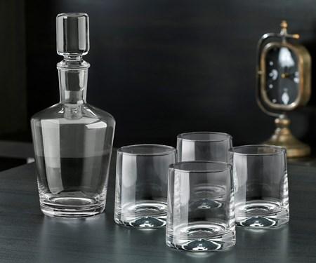 WhiskeyDecanterandGlassSetSetof5