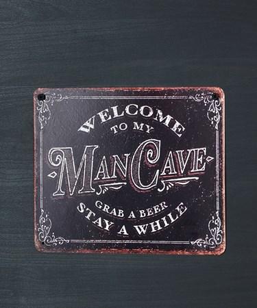ManCaveWallPlaque