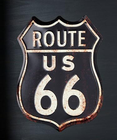 Route66WallSign