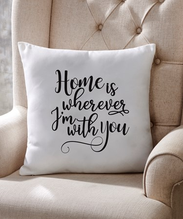 HomeisWhereverPillow