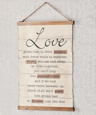 LoveSentimentWallSign