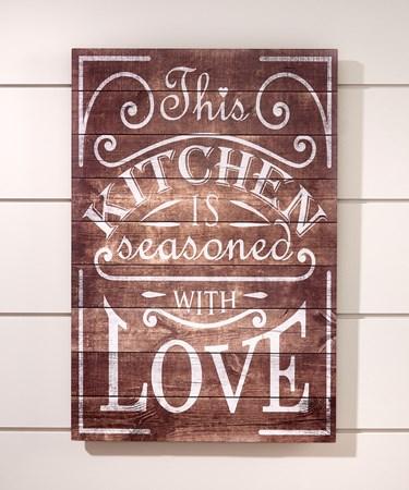 KitchenWallPlaque