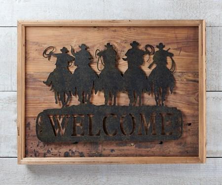 CowboywHorseWallDeacutecor