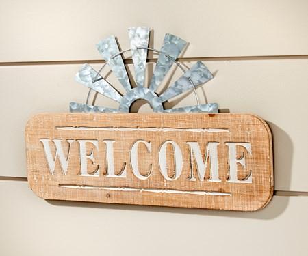 WelcomeWallSign