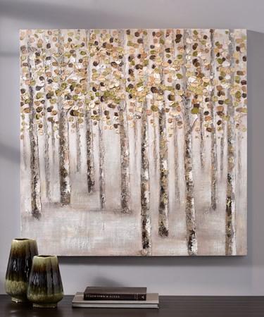 CanvasOilPrintTrees