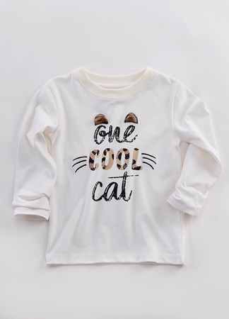 ToddlerOneCoolCatTShirt