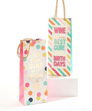 BirthdayDesignPaperWineGiftBag2Asst
