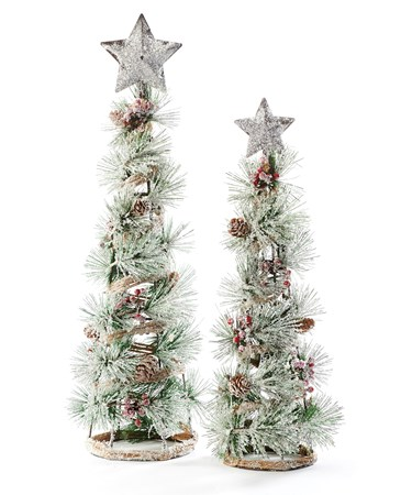 ChristmasTreeDeacutecorSetof2