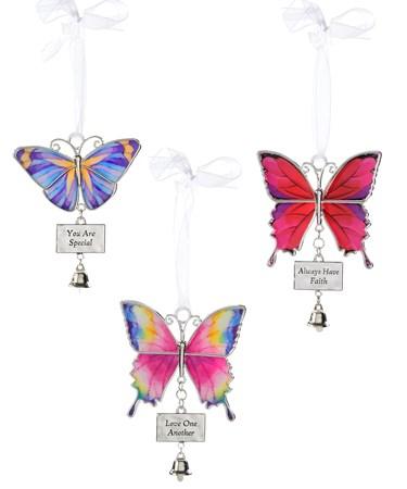 ButterflywBellOrnament3AsstwDisplayer