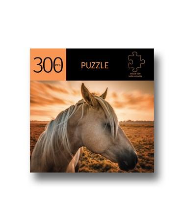 HorsewSunsetDesignPuzzle300Pieces