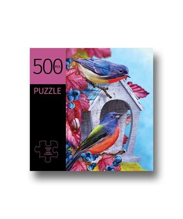 BlueBirdsDesignPuzzle500Pieces