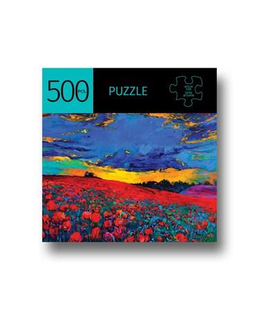 PoppyFieldDesignPuzzle500Pieces